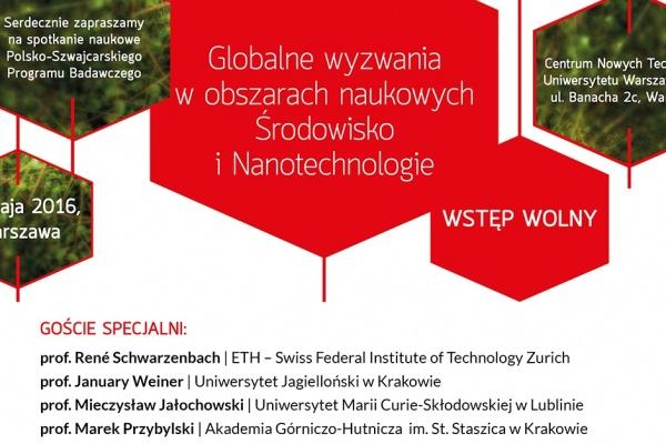 Spotkanie Naukowe PSPB – Środowisko i Nanotechnologie