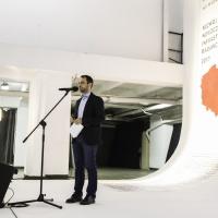 Pan Marcin Kardas - radca Ministra z Ministerstwa Nauki i Szkolnictwa Wyższego opowiadał o wdrażaniu Konkursu nr 2 POIR