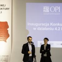 Pani Katarzyna Kaczkowska i Pan Marcin Kardas odpowiadali na pytania przyszłych beneficjentów Konkursu nr 2 POIR.