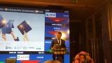 Powiększ zdjęcie: Na zdjęciu widać Andrzeja Steca - zastępcę redaktora naczelnego Rzeczpospolitej, który otworzył galę Rankingu Uczelni i Wydziałów Ekonomicznych.