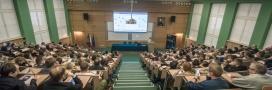 Powiększ zdjęcie: Na zdjęciu widać uczestników spotkania informacyjno-konsultacyjnego, które dotyczyło Jednolitego Systemu Antyplagiatowego powstającego w OPI PIB. Fot. Waldemar Więckowski OPI PIB