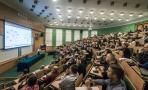 Powiększ zdjęcie: Na zdjęciu widać przedstawicieli uczelni publicznych i niepublicznych uczestniczących w spotkaniu informacyjno-konsultacyjnym Jednolitego Systemu Antyplagiatowego. Fot. Waldemar Więckowski