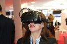 Powiększ zdjęcie: Na stoisku OPI PIB można znaleźć się w wirtualnej rzeczywistości (okulary VR).
