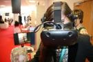 Powiększ zdjęcie: Virtual Reality could be entered at the OPI PIB stand fot. OPI PIB