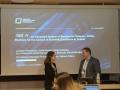 Powiększ zdjęcie: Dr Jarosław Protasiewicz prezentuje system RAD-on podczas konferencji