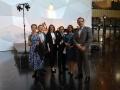 Powiększ zdjęcie: LISI na konferencji EUNIS 2019, od lewej: Marta Niemczyk, dr Jarosław Protasiewicz, Sylwia Rosiak, Łukasz Błaszczyk, Iwona Kucharska, Emil Podwysocki